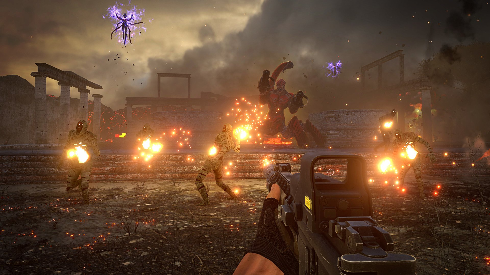 Screenshot for the game Serious Sam 4: Deluxe Edition [v 1.07 + DLC] (2020) download torrent RePack from R. G. Mechanics