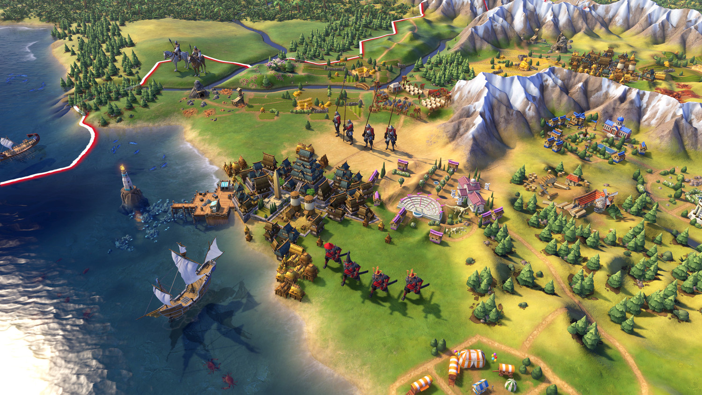 Screenshot for the game Sid Meiers Civilization VI (v 1.0.8.4 +DLC ) (2016) download torrent RePack by R.G. Mechanics