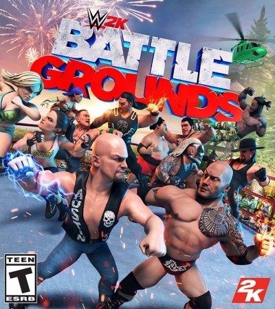 Cover WWE 2K Battlegrounds