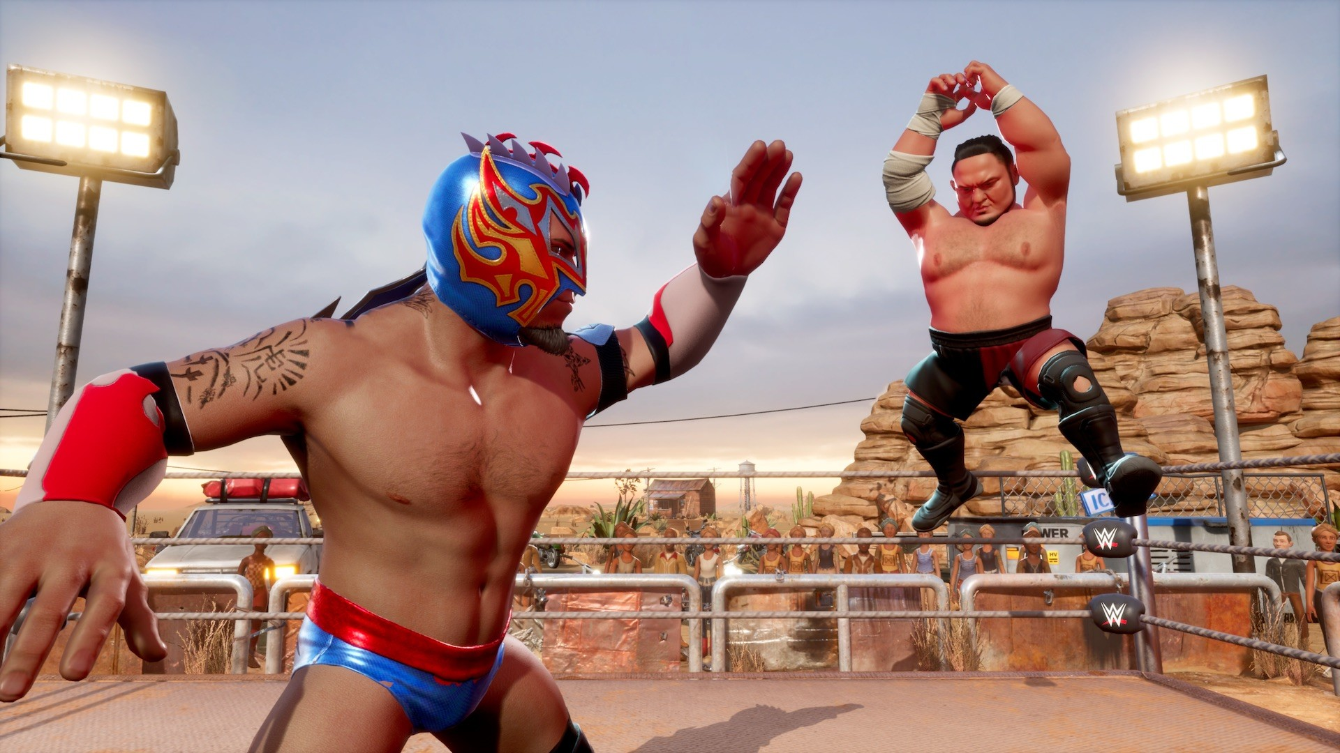 Screenshot for the game WWE 2K Battlegrounds [1.0.3.0] (2020) download torrent RePack