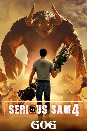 Cover Serious Sam 4: Deluxe Edition