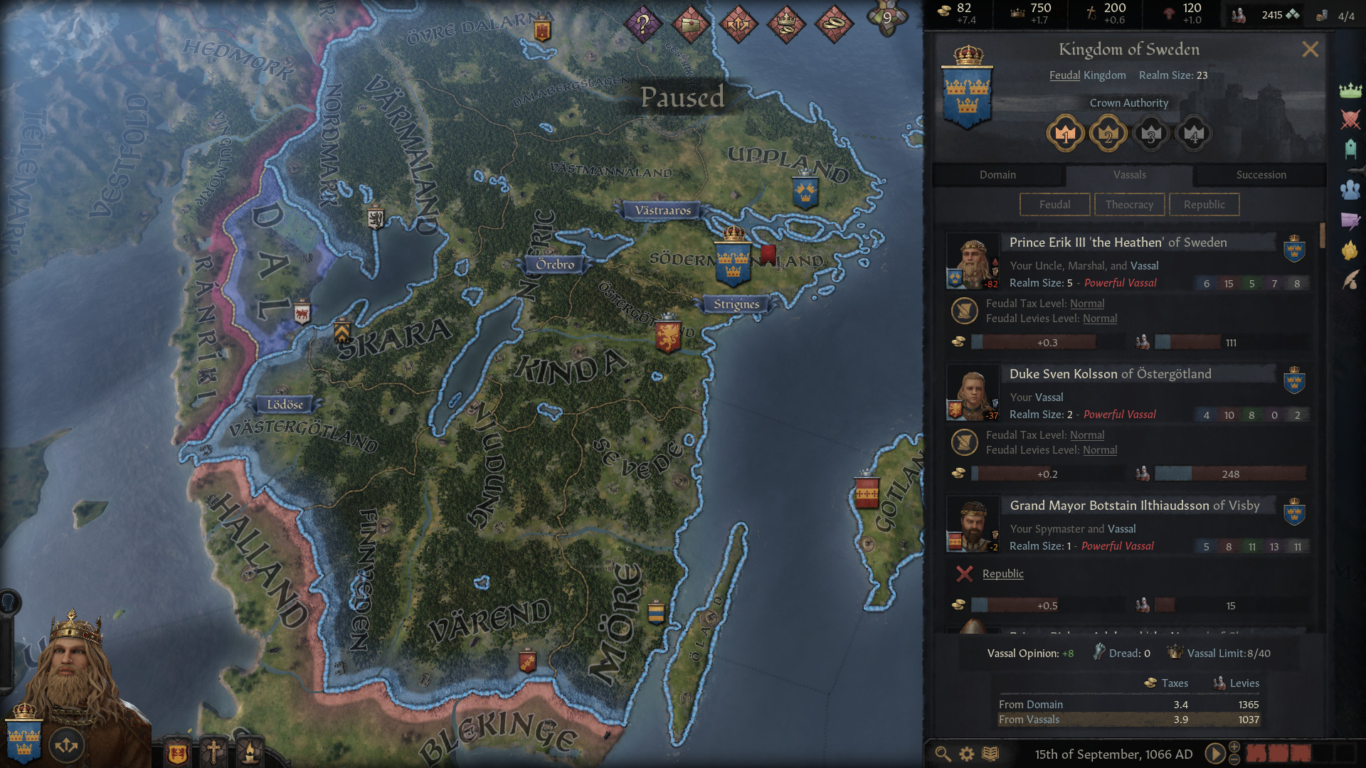 Screenshot for the game Crusader Kings III [v. 1.2.2] (2020) download torrent RePack by R.G. Mechanics