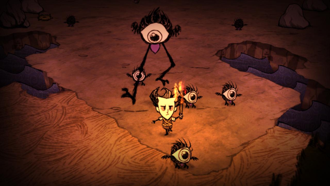 Screenshot for the game Don't Starve v.429404 [GOG] (2013) download torrent License