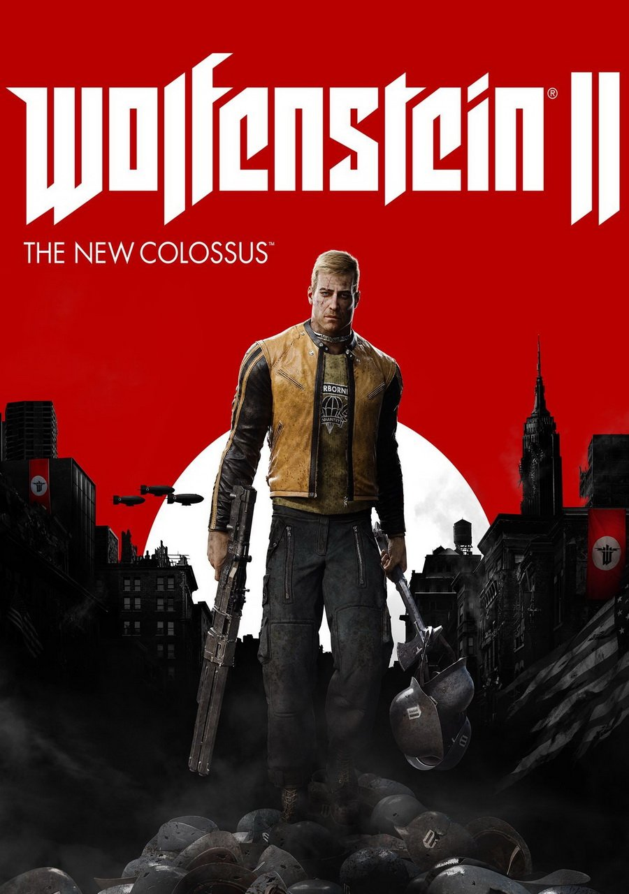 Cover Wolfenstein II: The New Colossus (2017)  PC | Repack by R.G. The mechanics