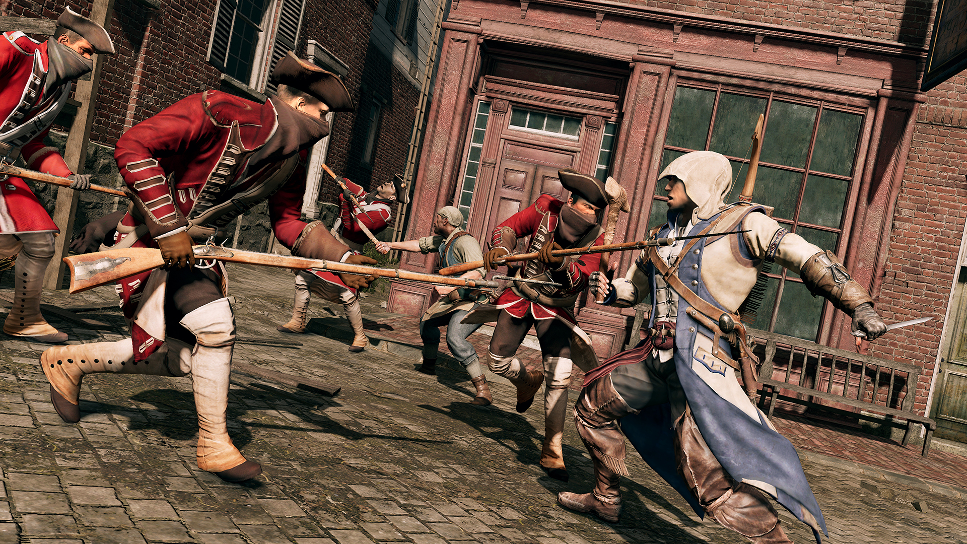 Screenshot for the game Assassin's Creed III Remastered (v.1.03 + DLC) (2019) download torrent RePack