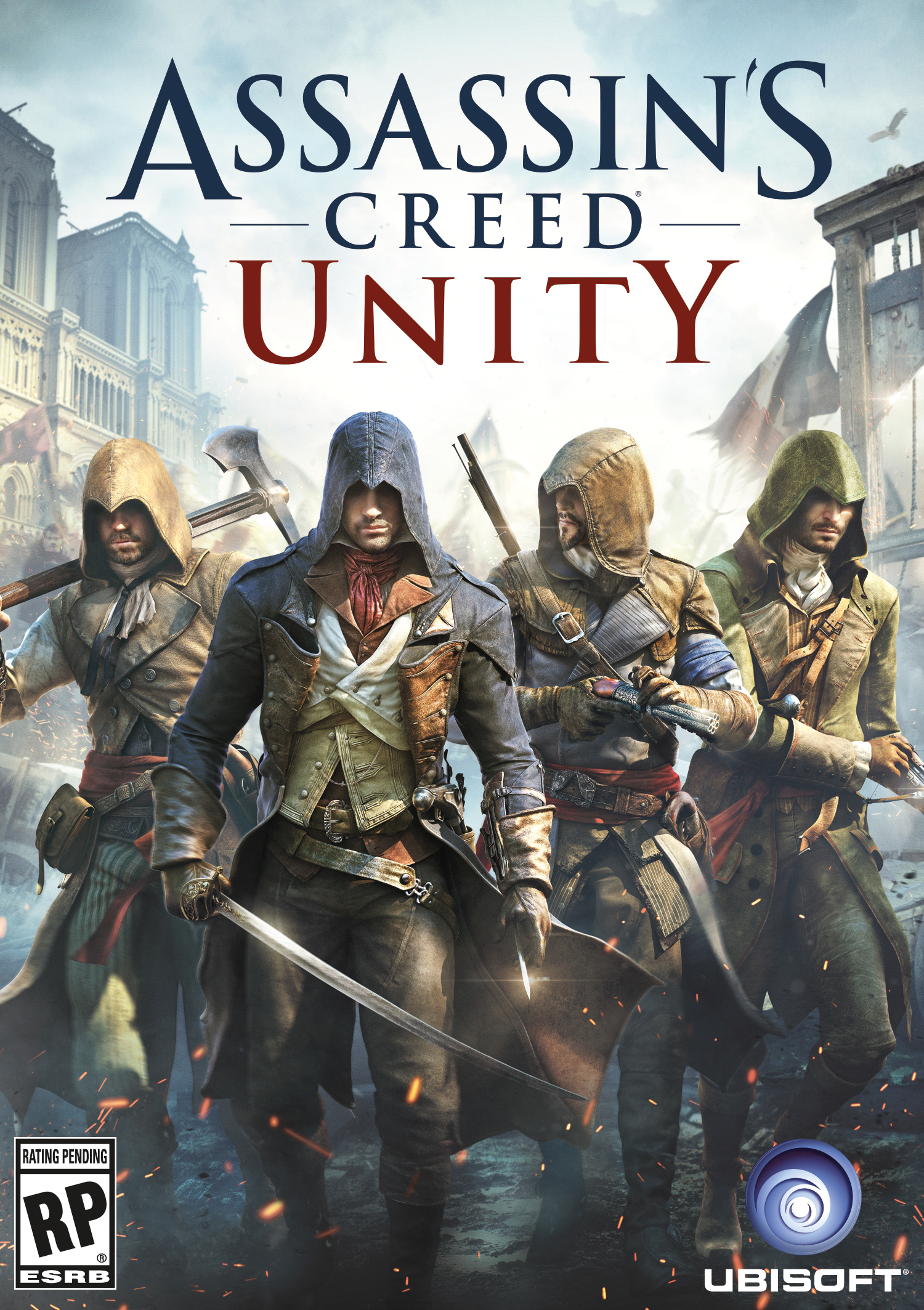 Cover Assassin's Creed Unity (2014) | RePack от R.G. Механики