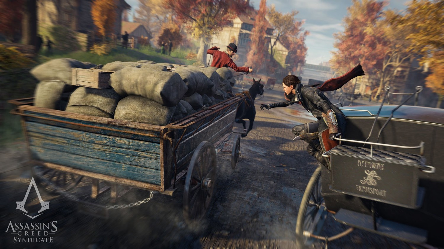 Screenshot for the game Assassin's Creed: Syndicate (2015)  | RePack от R.G. Механики