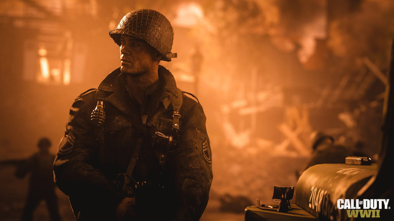 Screenshot for the game Call of Duty: WWII (2017) download torrent RePack