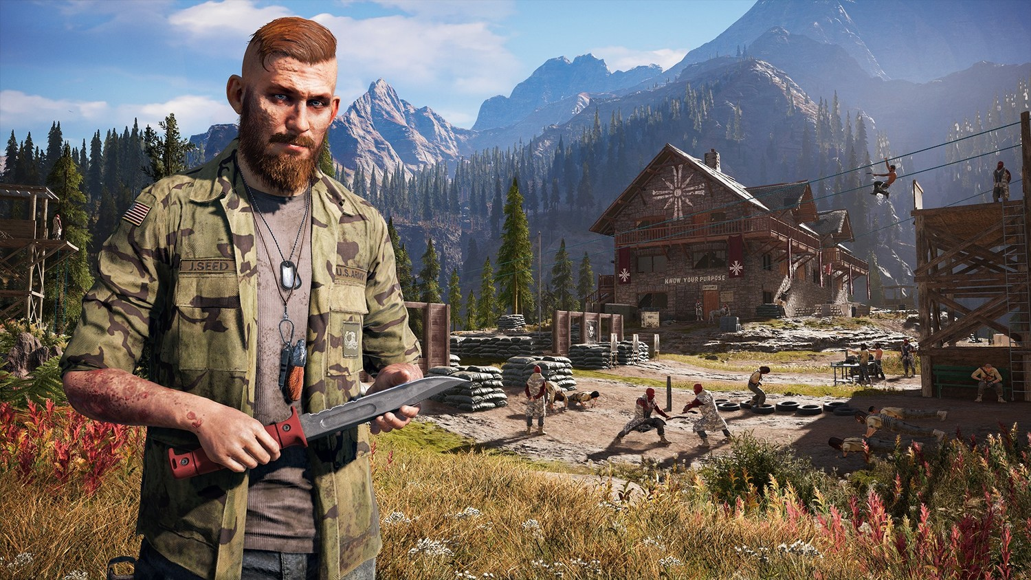Screenshot for the game Far Cry 5: Gold Edition [v 1.011 + DLCs] (2018) download torrent RePack
