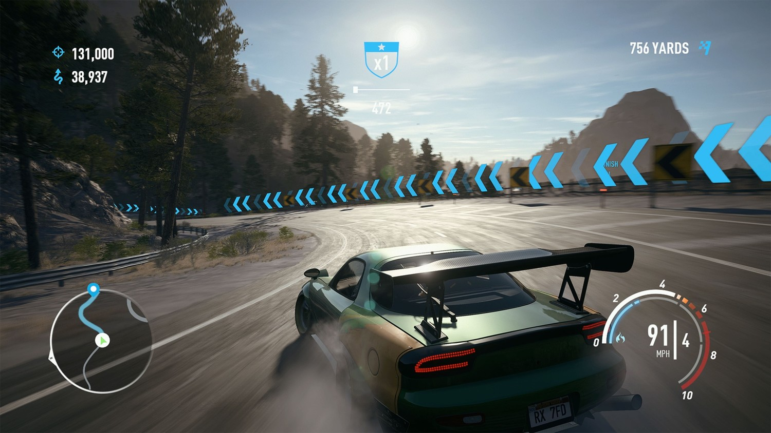 Screenshot for the game Need for Speed: Payback (2017) download torrent RePack