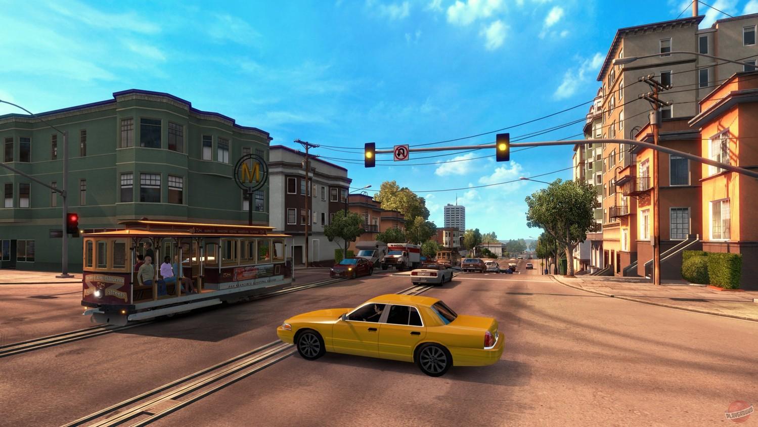 Screenshot for the game American Truck Simulator [v 1.38.2.18 s + DLC] (2016) download torrent RePack
