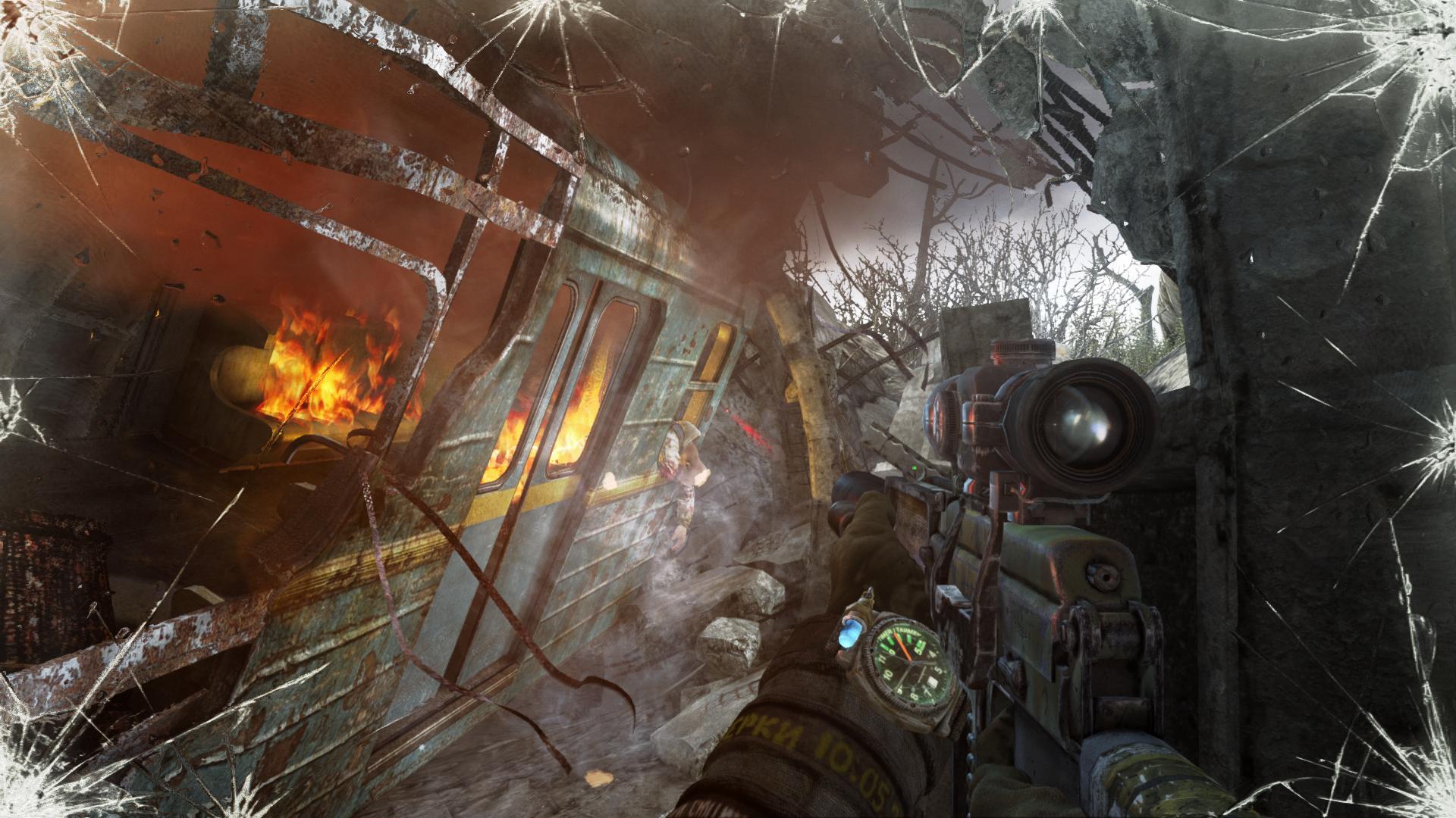 Screenshot for the game Metro: Last Light - Redux [Update 7] (2014)  | RePack от R.G. Механики