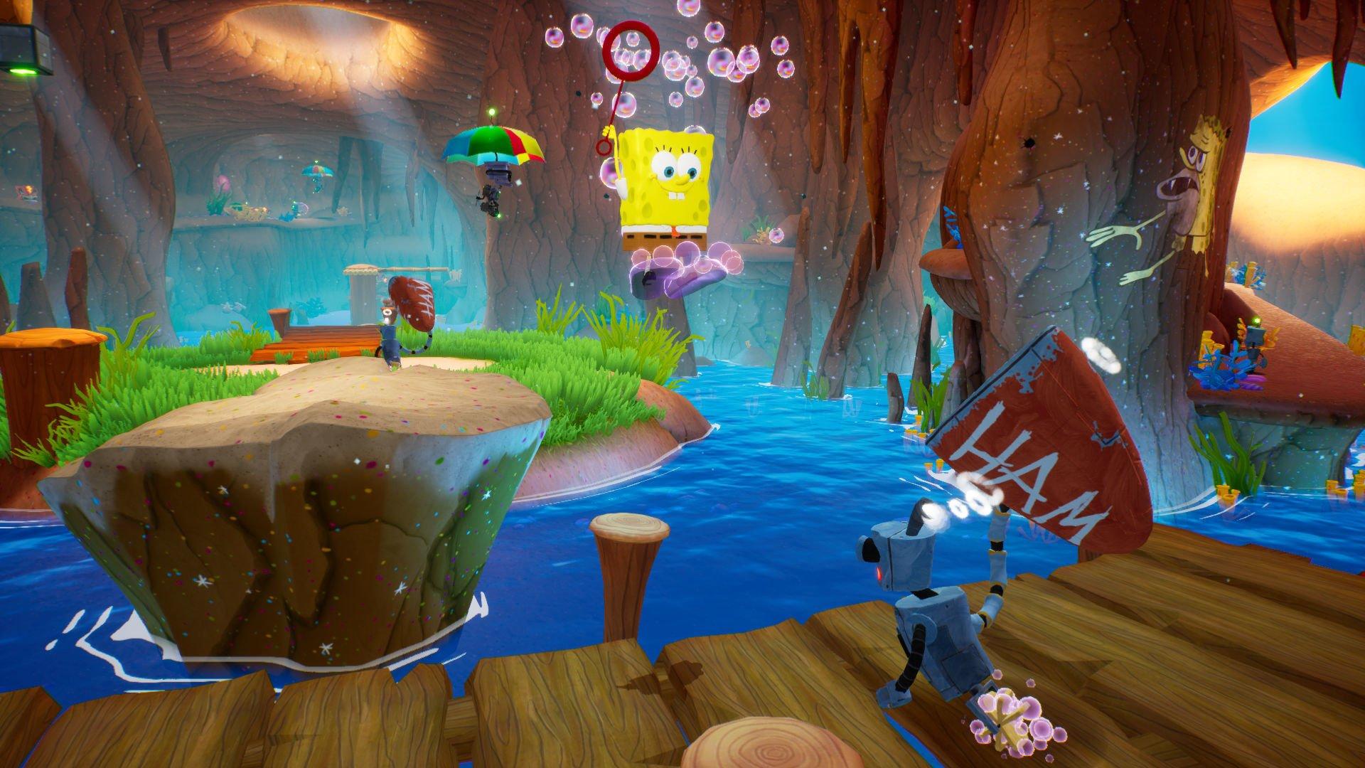 Screenshot for the game SpongeBob SquarePants: Battle for Bikini Bottom Rehydrated V. 1.03 [GOG] (2003-2020) download torrent License