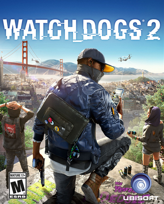 Poster Watch Dogs 2: Digital Deluxe Edition (2016)