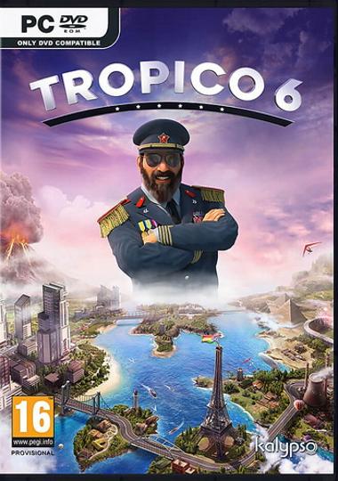 Cover Tropico 6 El Prez Edition [12 (245) + DLC]