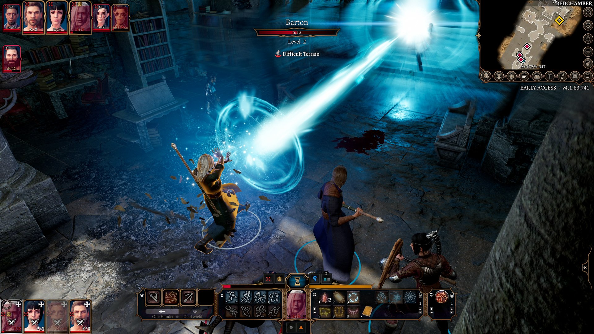 Screenshot for the game Baldur's Gate 3 (4.1.85.1780) [GOG] (Early Access) torrent download License
