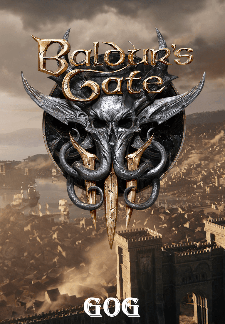 Cover Baldur's Gate 3 (4.1.85.1780) [GOG] (Early Access) torrent download License