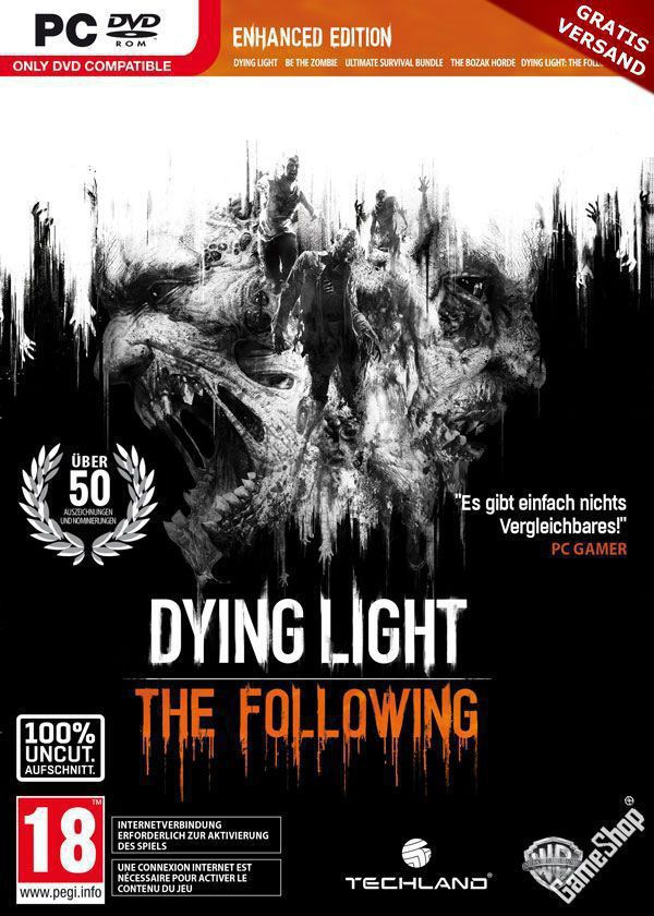 Poster Dying Light: The Following- Enhanced Edition (2015)