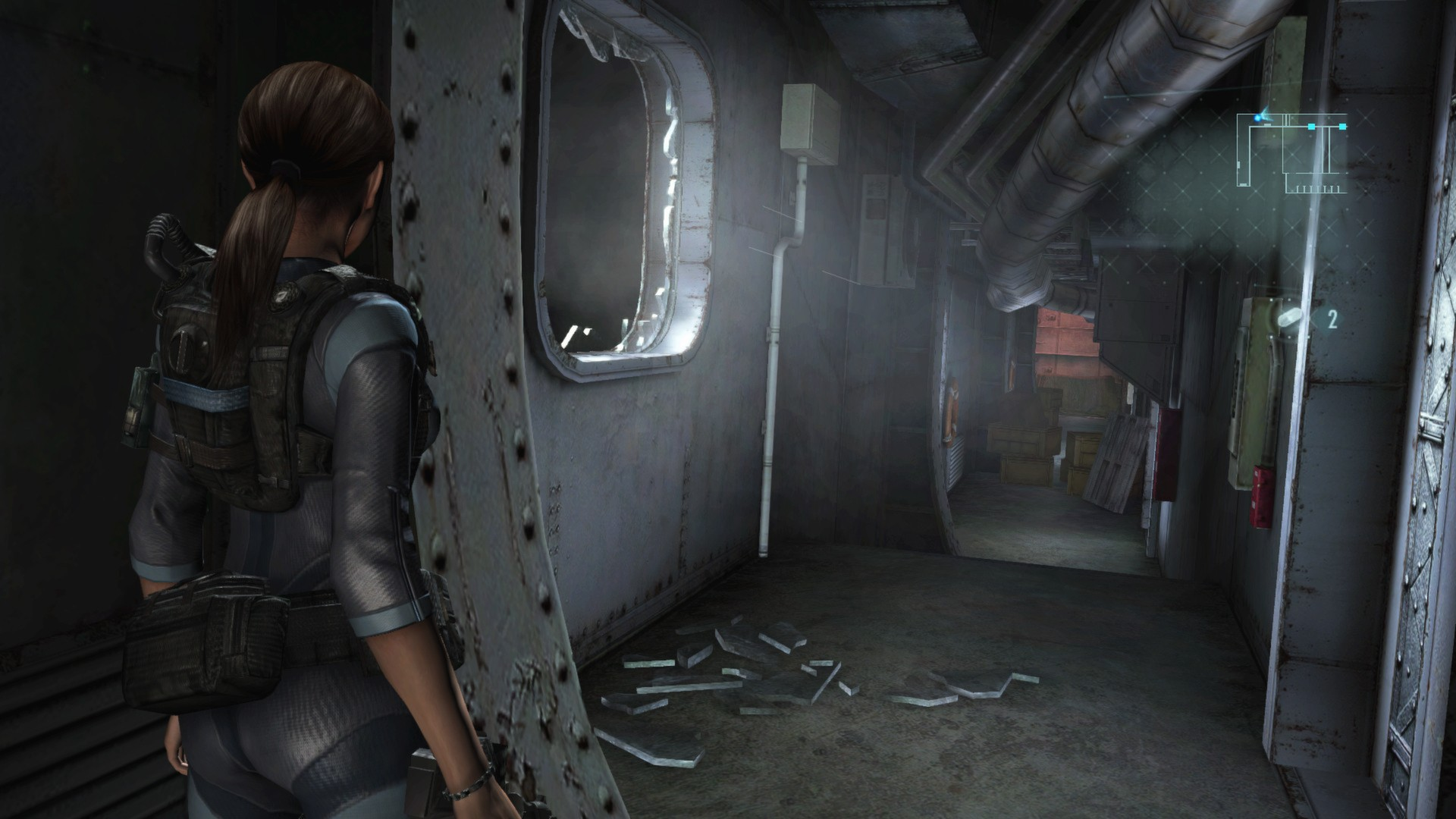 Screenshot for the game Resident Evil: Revelations [v 1.0u5 + DLC] (2013) | RePack от R.G. Механики