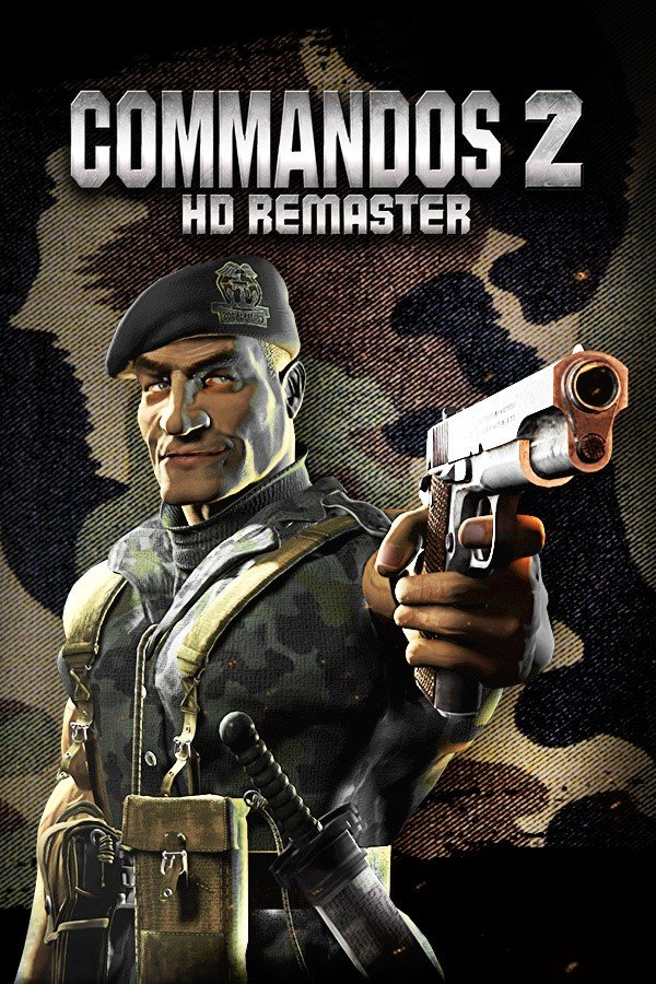 Cover Commandos 2 - HD Remaster