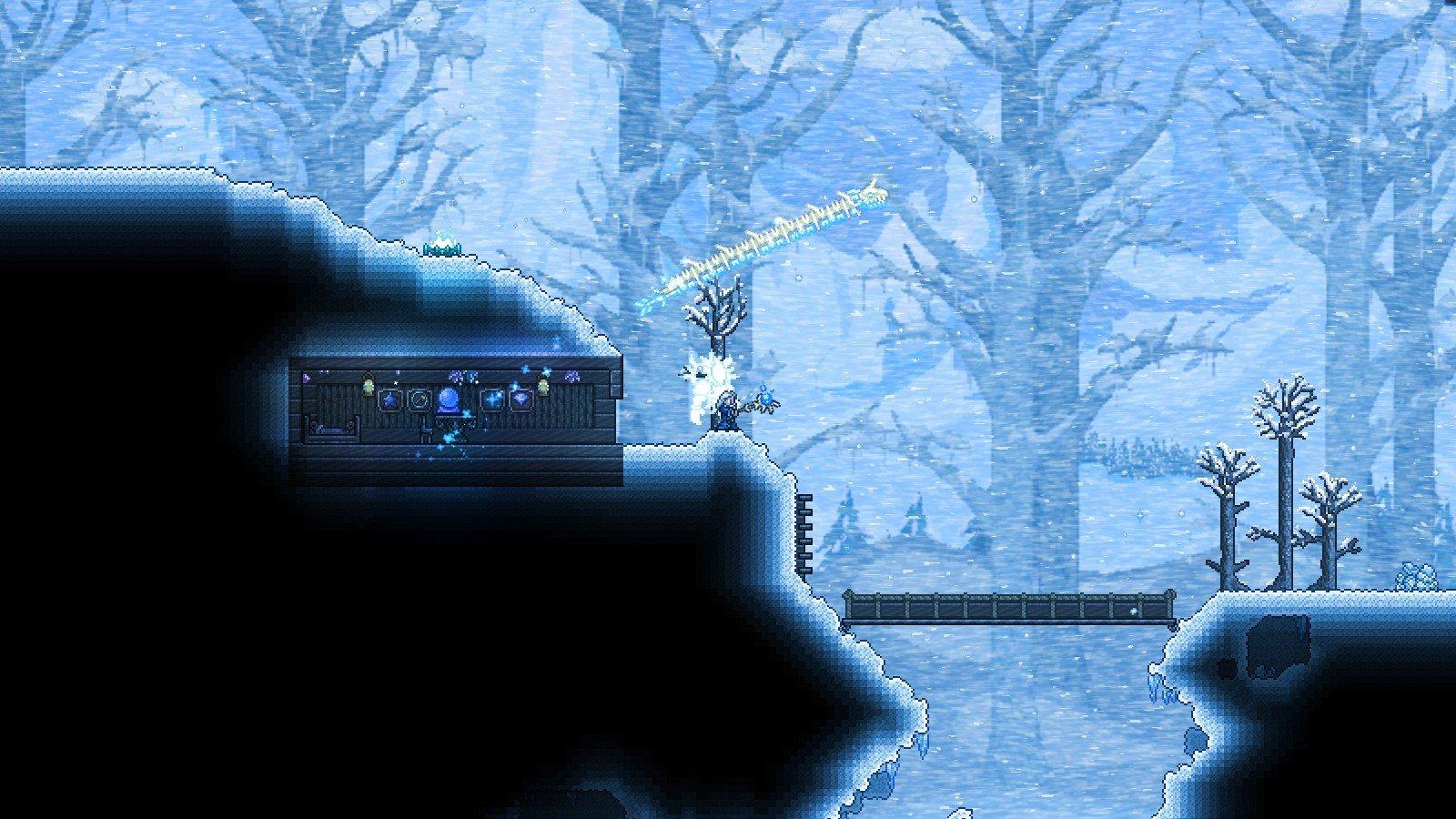 Screenshot for the game Terraria v.1.4.1.2 [GOG] (2011) скачать торрент Лицензия