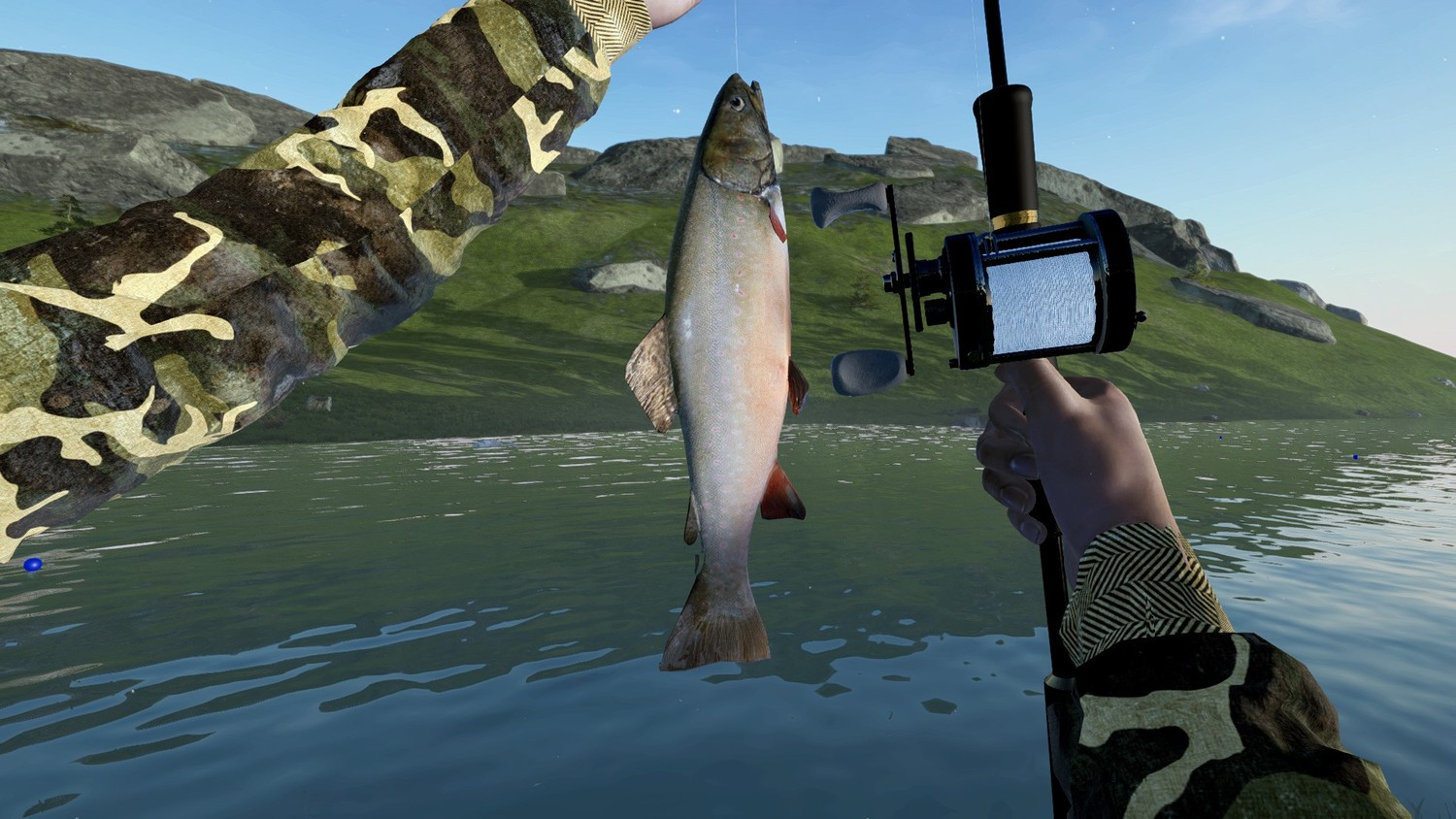 Screenshot for the game Ultimate Fishing Simulator [v 2.20.9:500+DLC] (2017) download torrent RePack