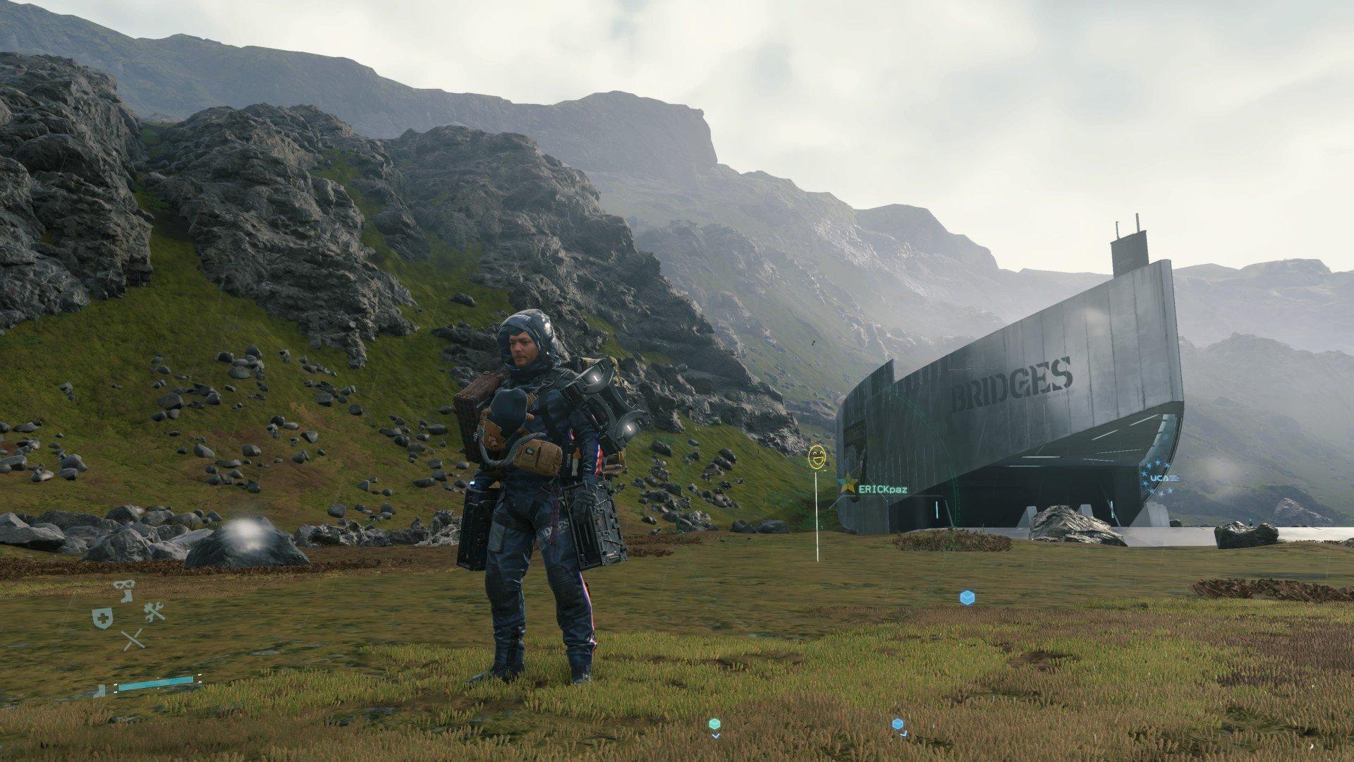 Screenshot for the game DEATH STRANDING V. 1.02 [Steam-Rip] (2020) download torrent License
