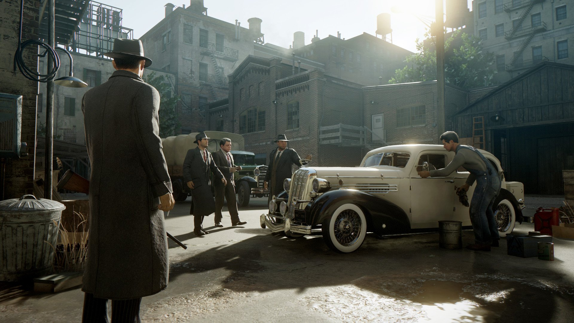 Screenshot for the game Mafia: Definitive Edition [Steam-Rip] (2020) download torrent License