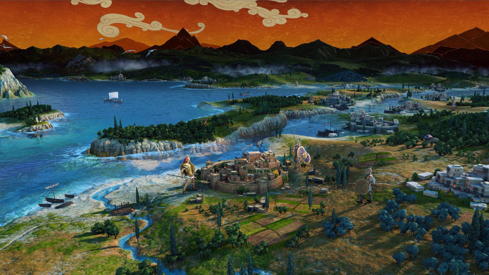 Screenshot for the game Total War Saga: TROY (2020) download torrent License