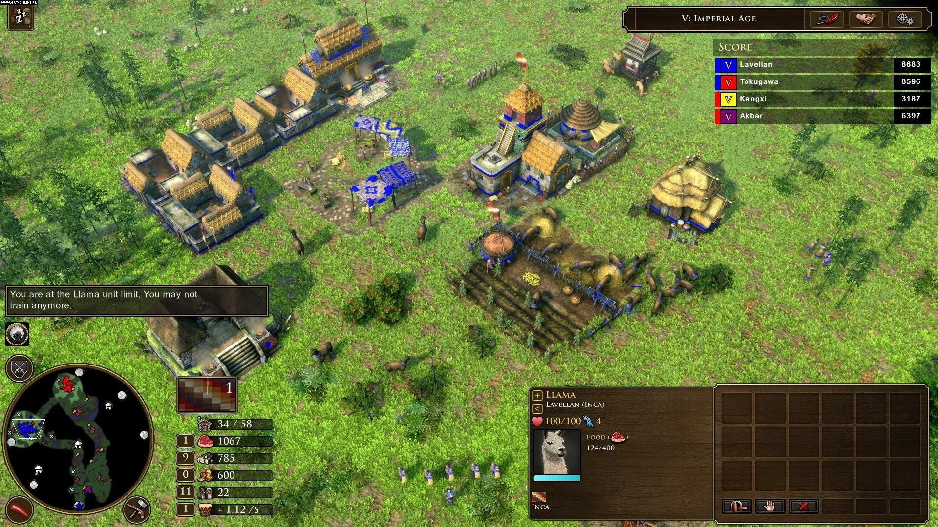 Screenshot for the game Age of Empires III: Definitive Edition [Steam-Rip] (2005-2020) download torrent License