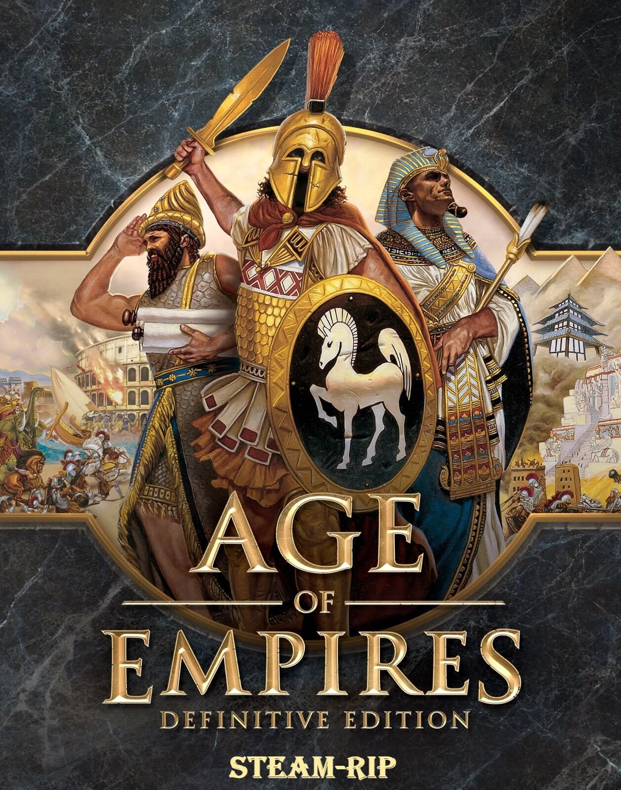 Cover Age of Empires III: Definitive Edition [Steam-Rip] (2005-2020) download torrent License