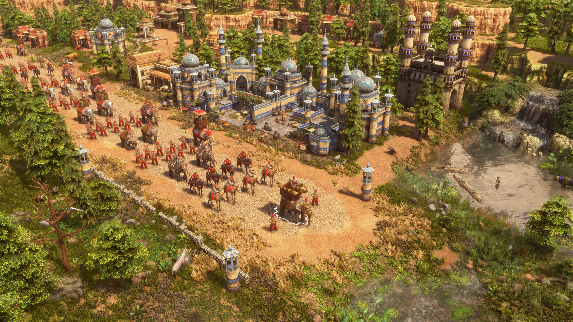 Screenshot for the game Age of Empires III: Definitive Edition (2020) download torrent RePack
