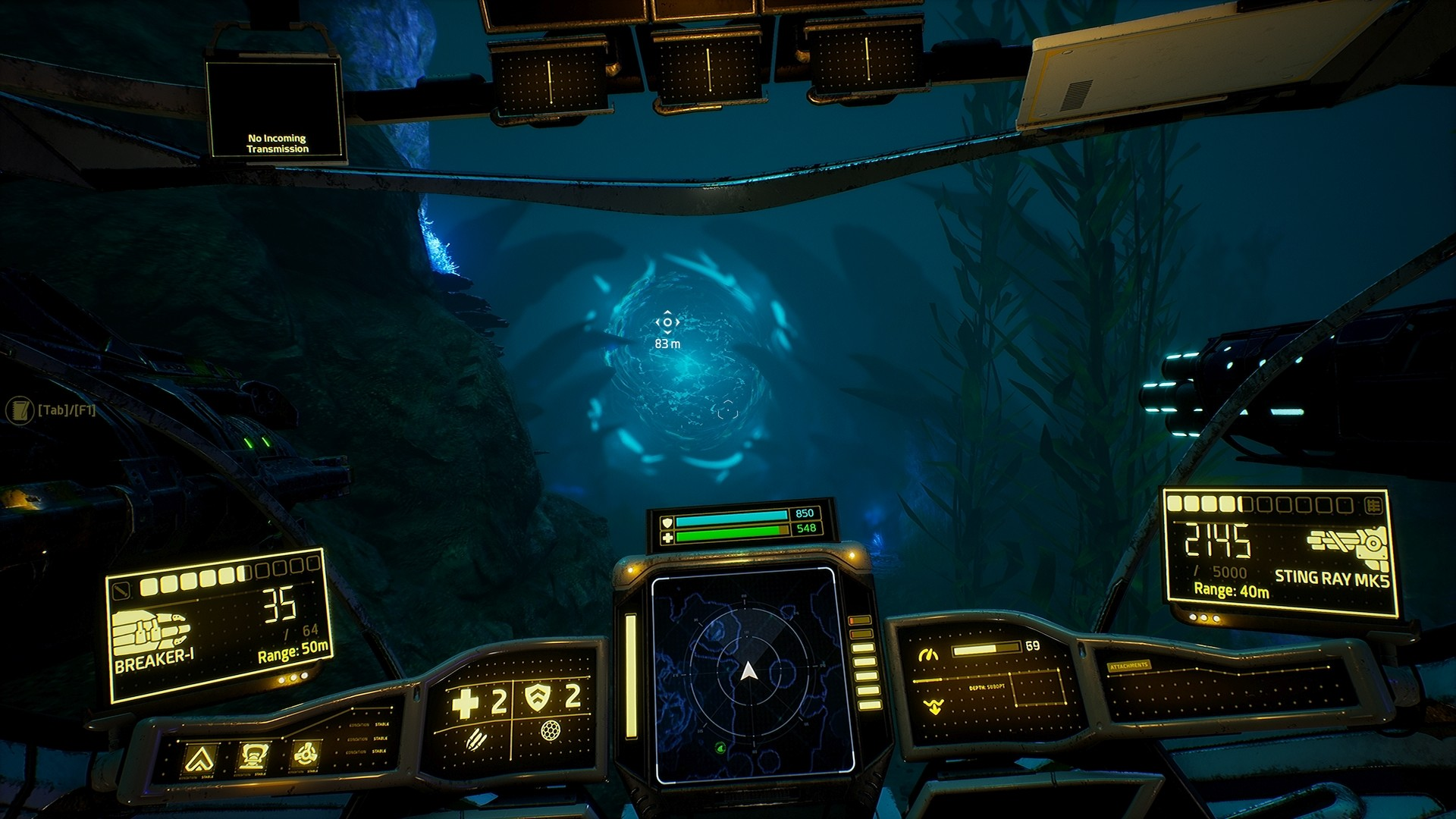 Screenshot for the game AquaNox Deep Descent-Collector's Edition V. 1. 0 b [GOG] (2020) download torrent License