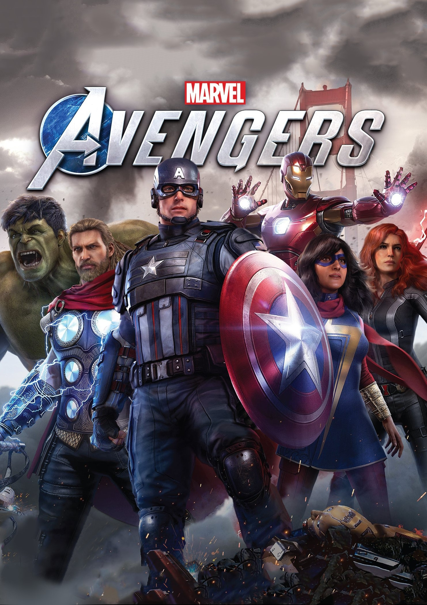 Cover Marvel's Avengers-Deluxe Edition V. 1. 3 (2020) RePack by R. G. Mechanics PC torrent for free