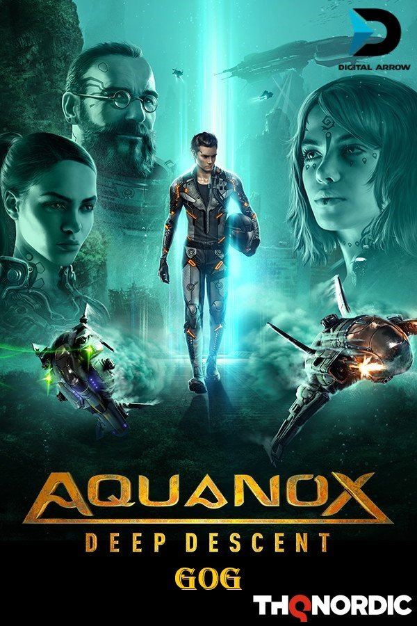 Cover AquaNox Deep Descent - Collector's Edition v.1.5 [GOG]
