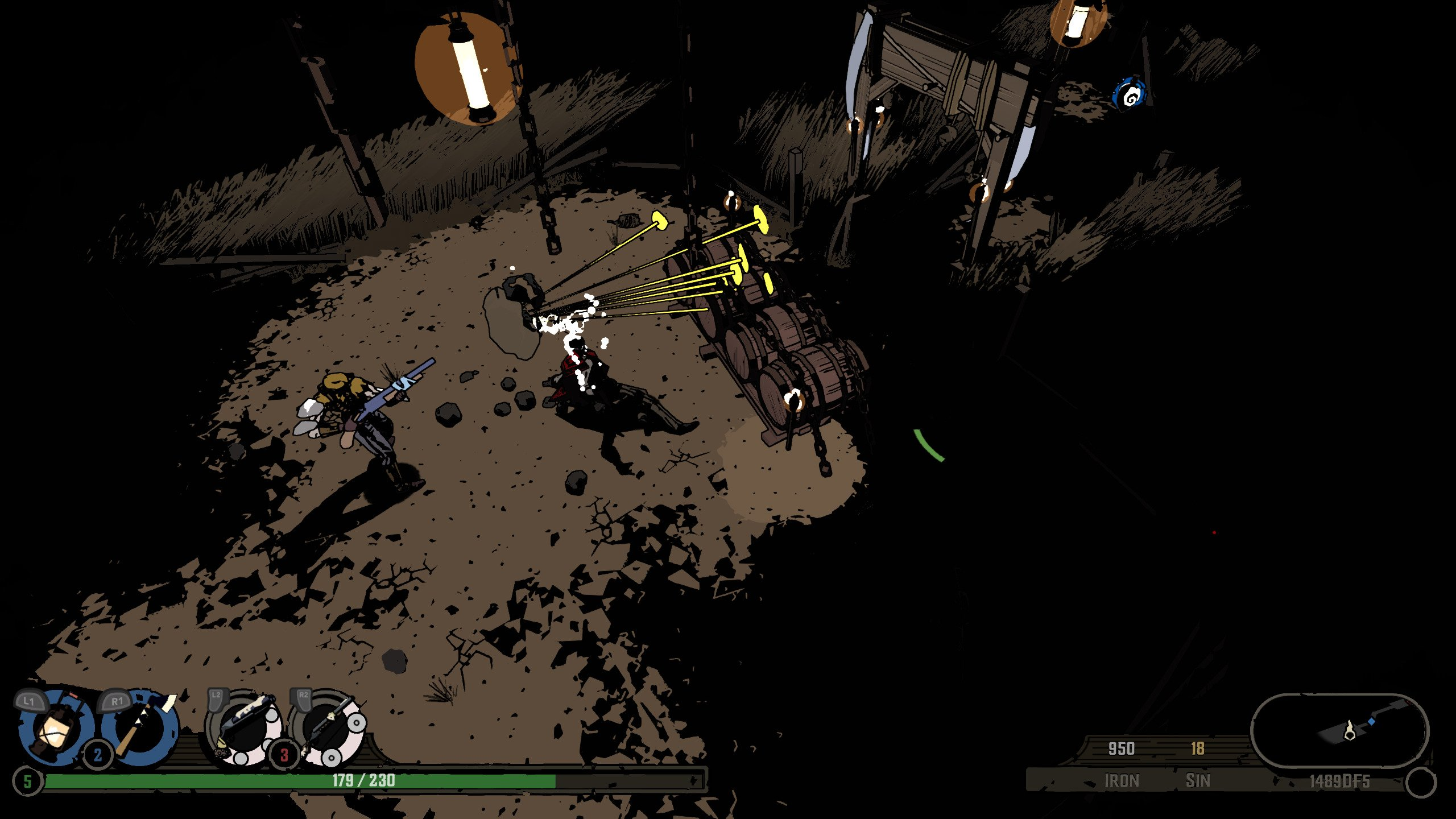 Screenshot for the game West of Dead V. 0. 10. 0. 15 [GOG] (2020) download torrent License