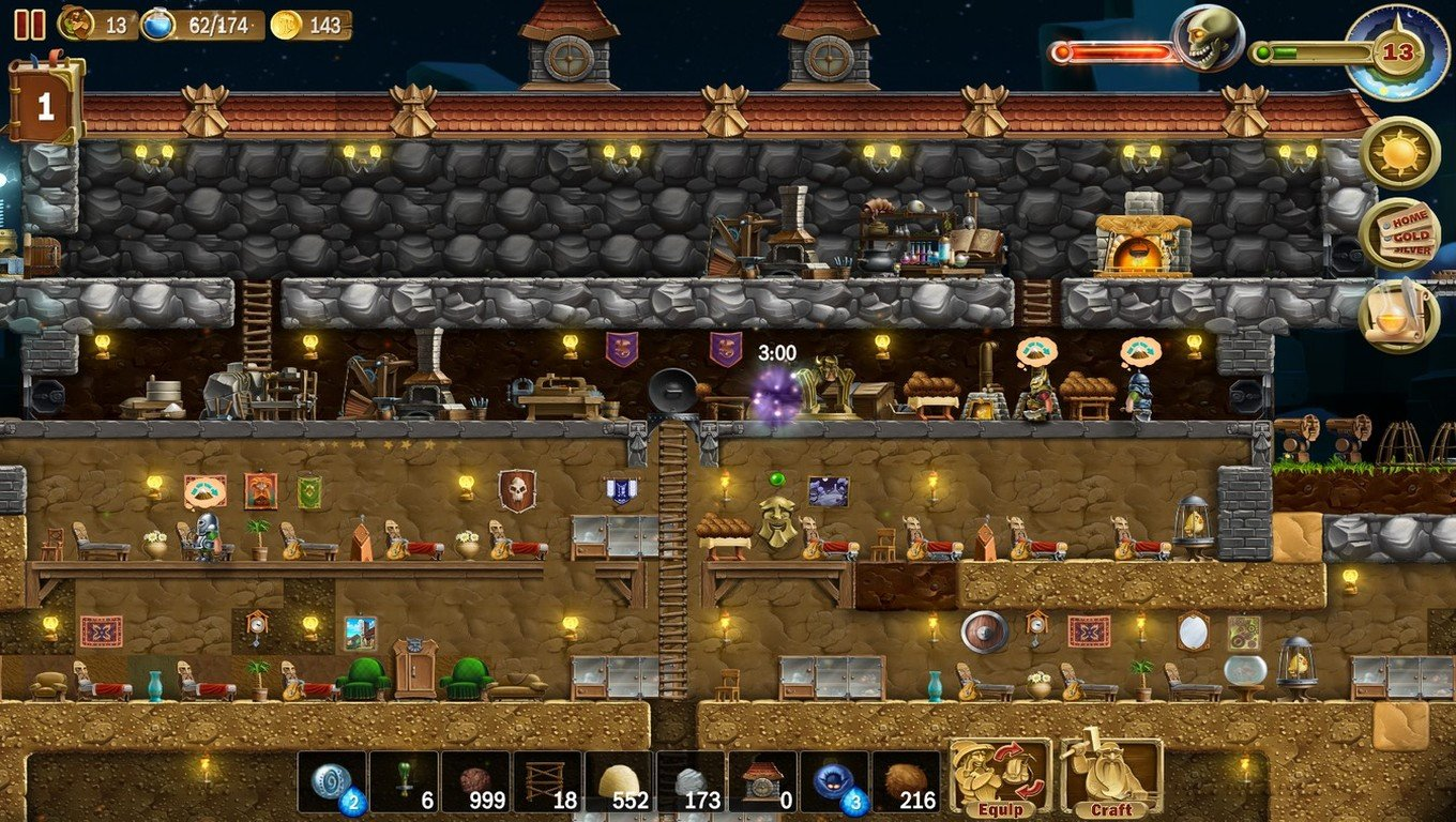 Screenshot for the game Craft The World V.1.9.001_1
