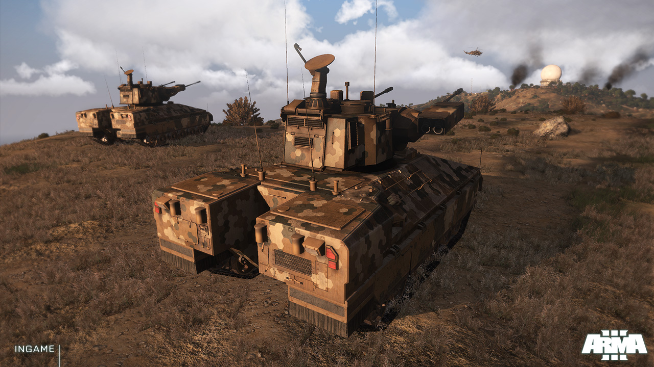 Screenshot for the game Arma 3: Apex Edition [v 2.00.146.773 + DLC's] (2013) download torrent RePack from R. G. Mechanics