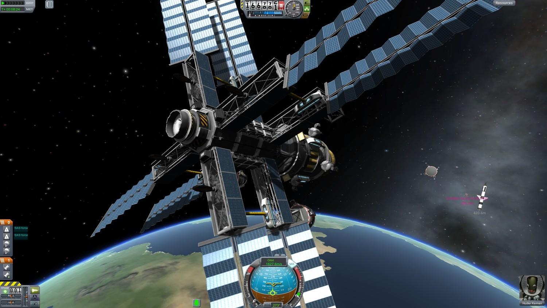 Screenshot for the game Kerbal Space Program [v 1.11.0.03045 (43460) + DLC] (2017) download torrent RePack by R.G. Mechanics