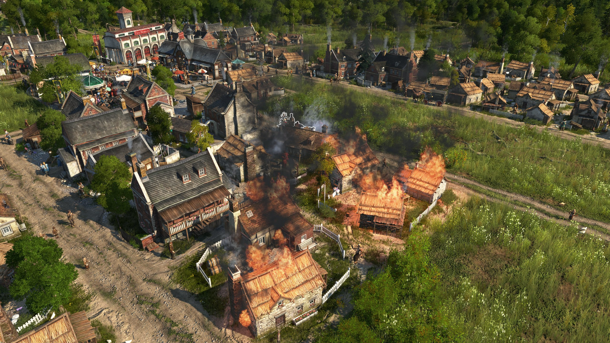 Screenshot for the game Anno 1800: Complete Edition (2019) download torrent RePack from R. G. Mechanics