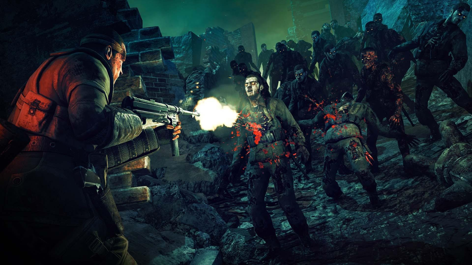 Screenshot for the game Zombie Army 4: Dead War - Super Deluxe Edition [v 2020.10.21.973201 + DLCs] (2020) download torrent RePack from R. G. Mechanics