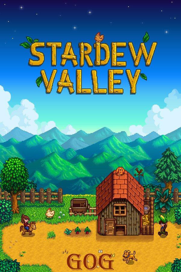 Poster Stardew Valley v.1.5.4 [GOG] (2016)