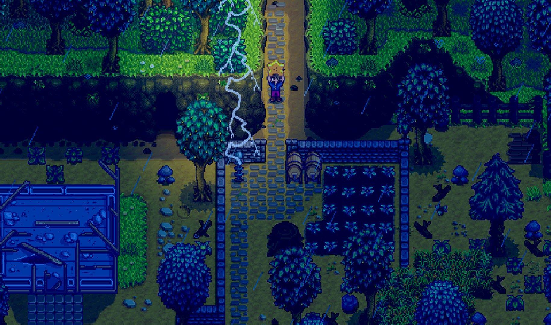 Screenshot for the game Stardew Valley v.1.5.4 [GOG] (2016) скачать торрент Лицензия