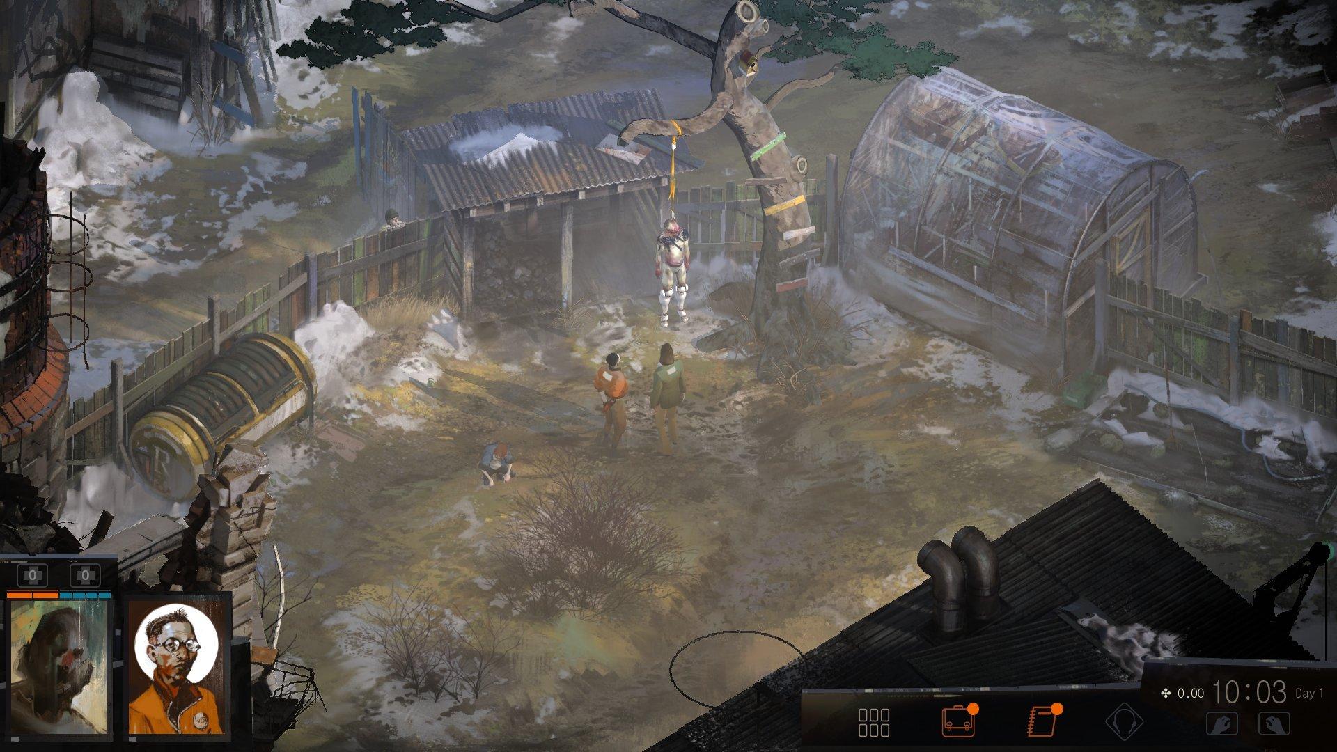 Screenshot for the game Disco Elysium-The Final Cut v.c09c4438  [GOG]