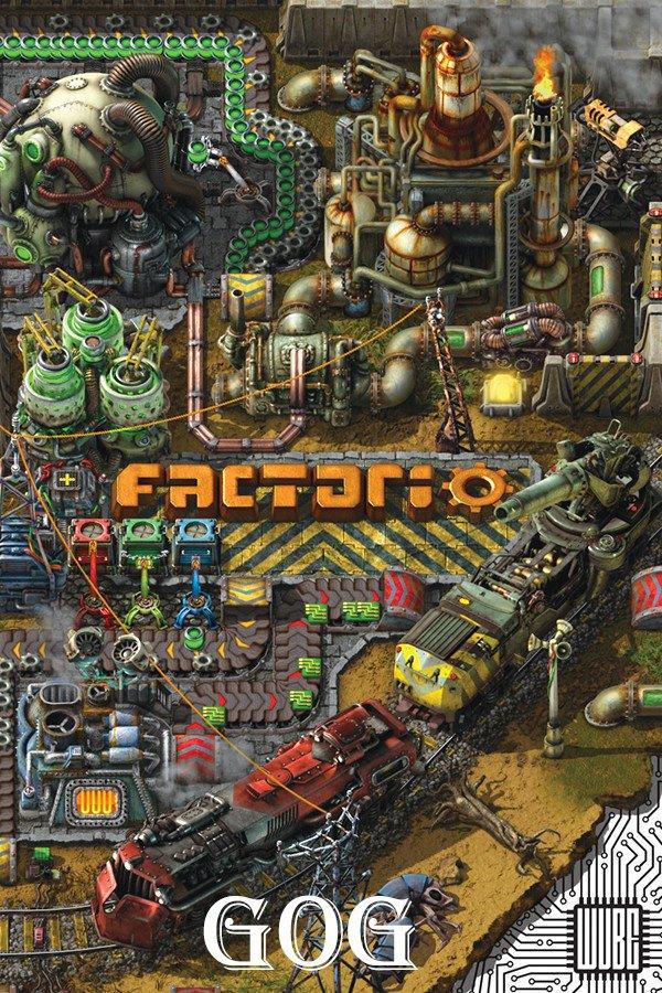Cover Factorio v.1.1.19 [GOG]