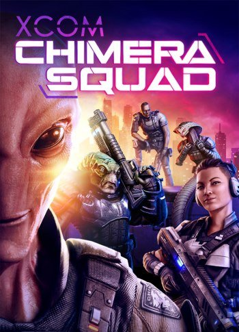 Cover XCOM Chimera Squad