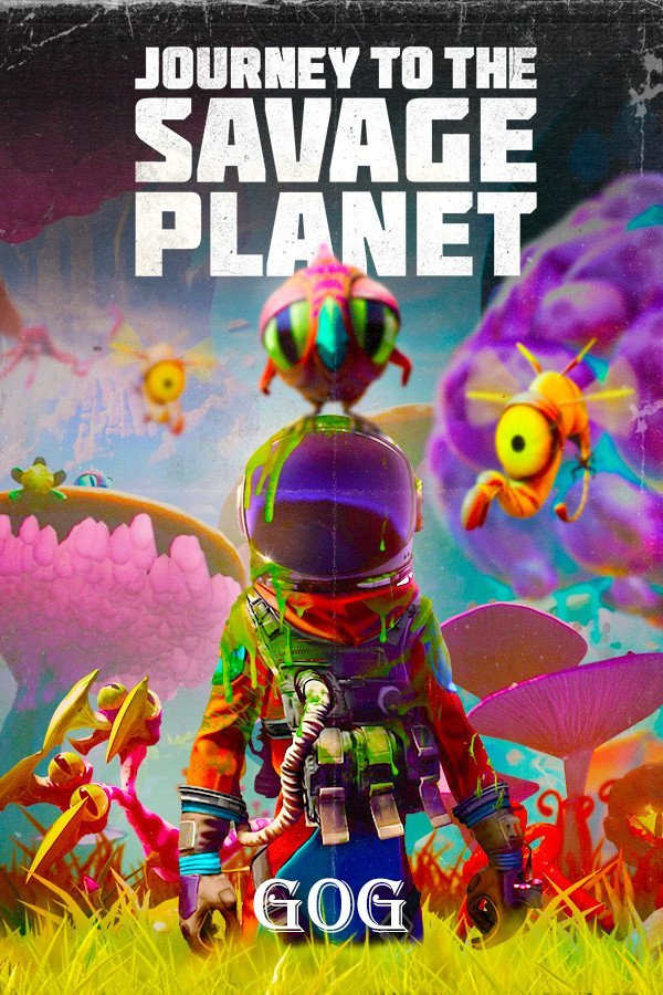 Poster Journey To The Savage Planet V.1.0.10 (2020)