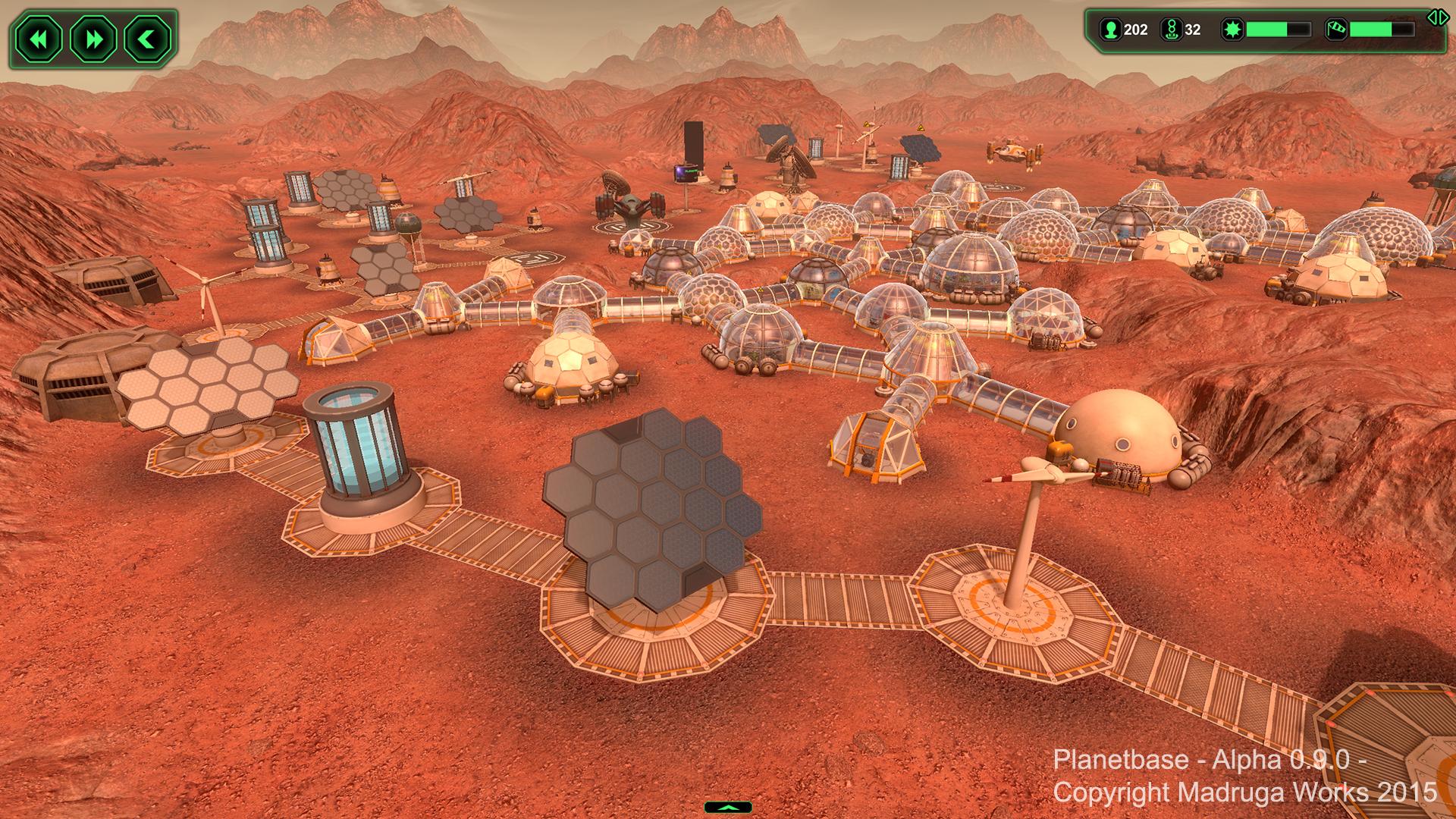 Screenshot for the game Planetbase V.1.3.7