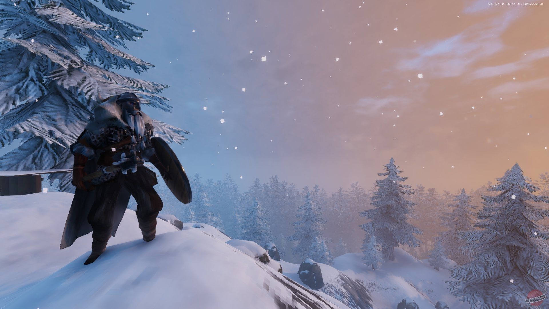 Screenshot for the game Valheim [0.145.6 Early Access] (2021) download torrent RePack from xatab