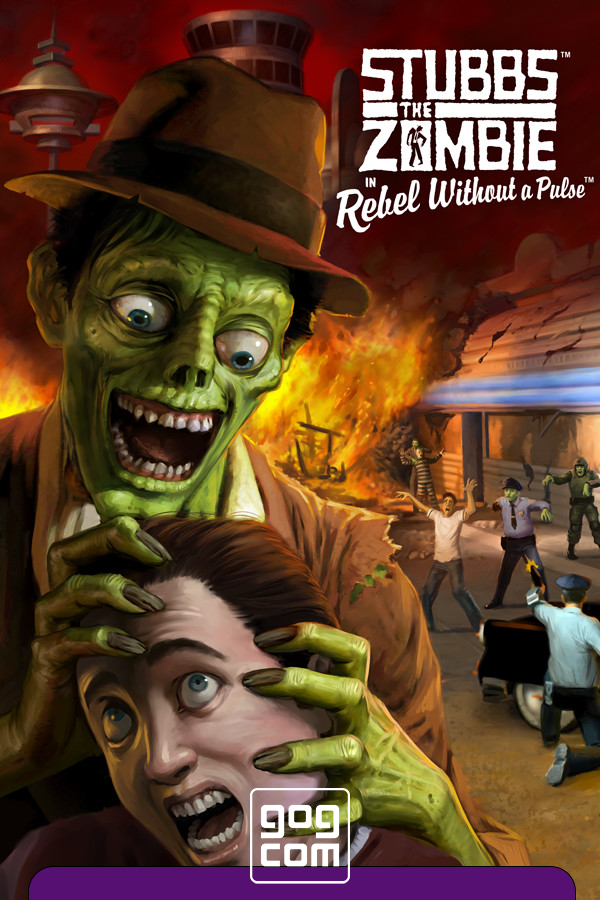 Cover Stubbs the Zombie in Rebel Without a Pulse (reissue) [GOG]